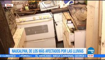 familias, Naucalpan, desbordamiento, río Hondo, viviendas