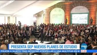 noticias, forotv, Aurelio Nuño, presenta, nuevos planes, estudio