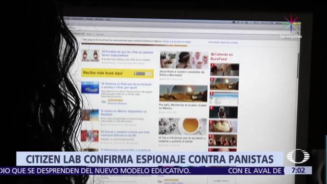 noticias, televisa, Citizen Lab, confirma espionaje, panistas, blanco de espionaje
