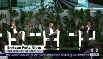 noticia,s televisa, EPN, asiste,encuentro empresarial, Alianza del Pacífico, Colombia