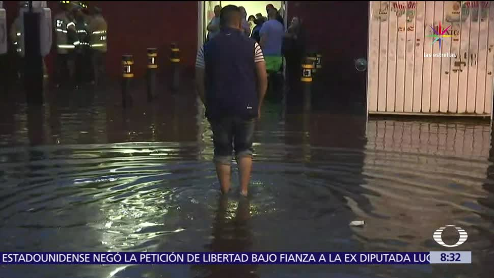 noticia,s televisa, Lluvias, afectan, hospital general de La Villa, CDMX