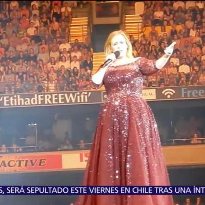 Adele publica carta en Instagram; habla del fin de sus conciertos