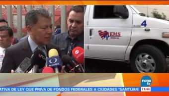 Román Rosales, subsecretario de Salud, CDMX, hospital La Villa
