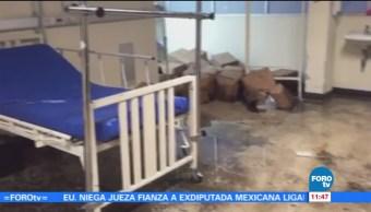 pacientes, trasladados, instalaciones, hospital La Villa, inundaciones