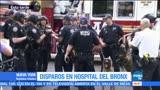 noticias, forotv, Tiroteo, dos muertos, hospital de Bronx, Nueva York