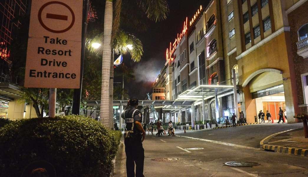 Policía, Filipinas, Hotel de Filipinas, Ataque Terrorista
