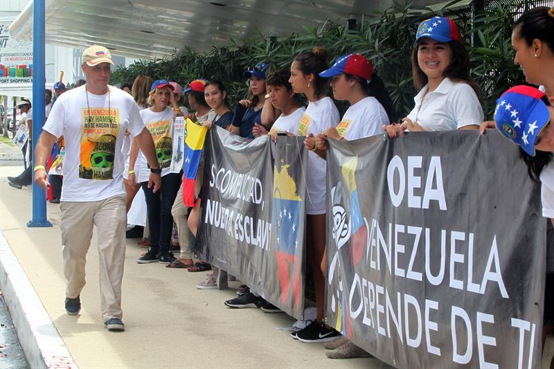 Ciudadanos De Venezuela, Cumbre de la OEA En Cancun, Organización De Estados Americanos, Secretario De Relaciones Exteriores, Luis Videgaray, Secretario De Estado Norteamericano, Rex Tillerson, Venezuela, Nicolas Maduro, Televisa News