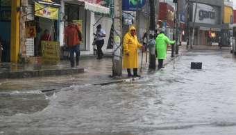 Plan tormenta, Municipios, Q. roo, Cindy, Lluvias
