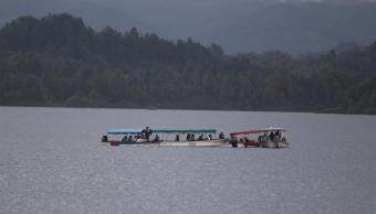 La represa de El Penol-Guanapé, donde se registró el naufragio, es un popular destino de fin de semana (EFE)