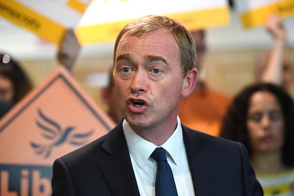 Tim Farron, líder del partido Demócrata Liberal, Reino Unido