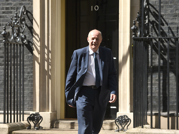 Damian Green, Reino Unido, Theresa May, 10 Downing Street