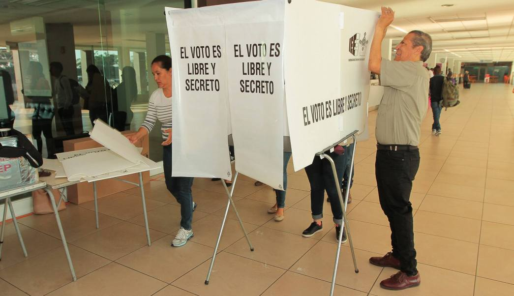 Cierran, Casillas electorales, Nayarit, Cierran casillas electorales