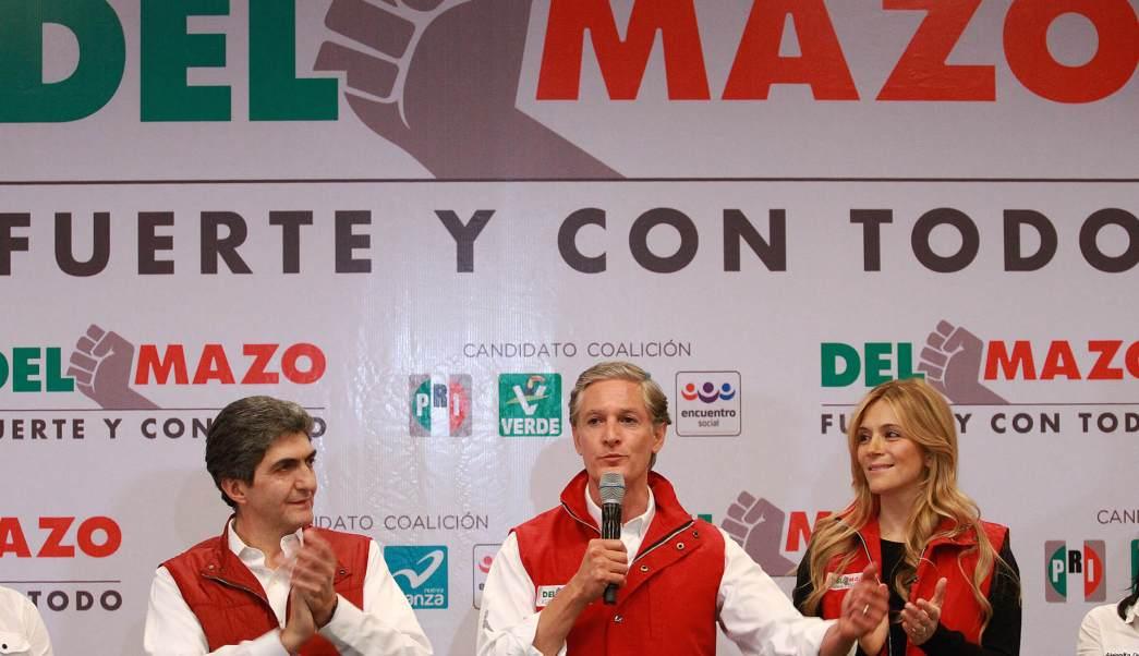 Alfredo del Mazo, candidato del PRI a la gubernatura del Edomex