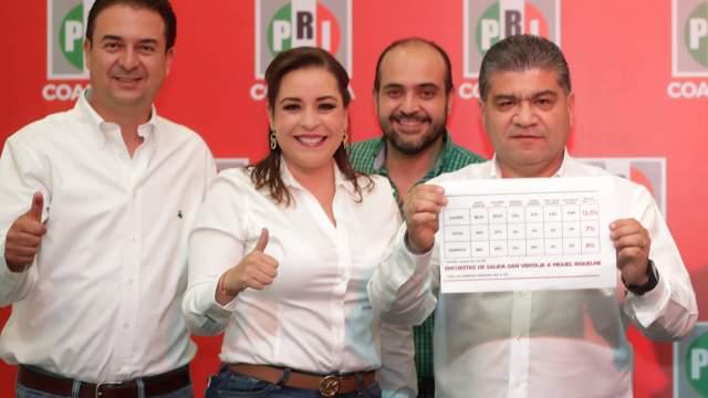 Miguel Ángel Riquelme, candidato del PRI, Coahuila, Elección Coahuila