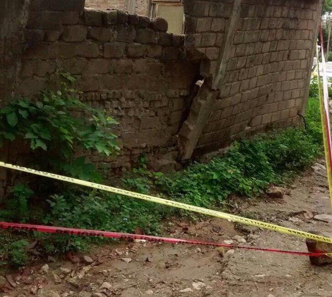 Afectaciones por sismo en Chiapas