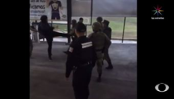 Ejército, jóvenes, estudiantes,fes, acatlán, video