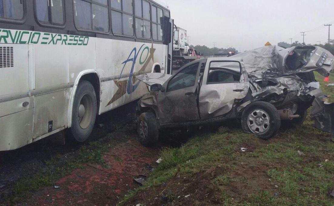 Mueren 6 mujeres tras choque en Circuito Exterior Mexiquense