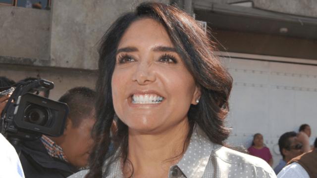 Alejandra Barrales, presidente nacional del PRD, Sol Azteca,