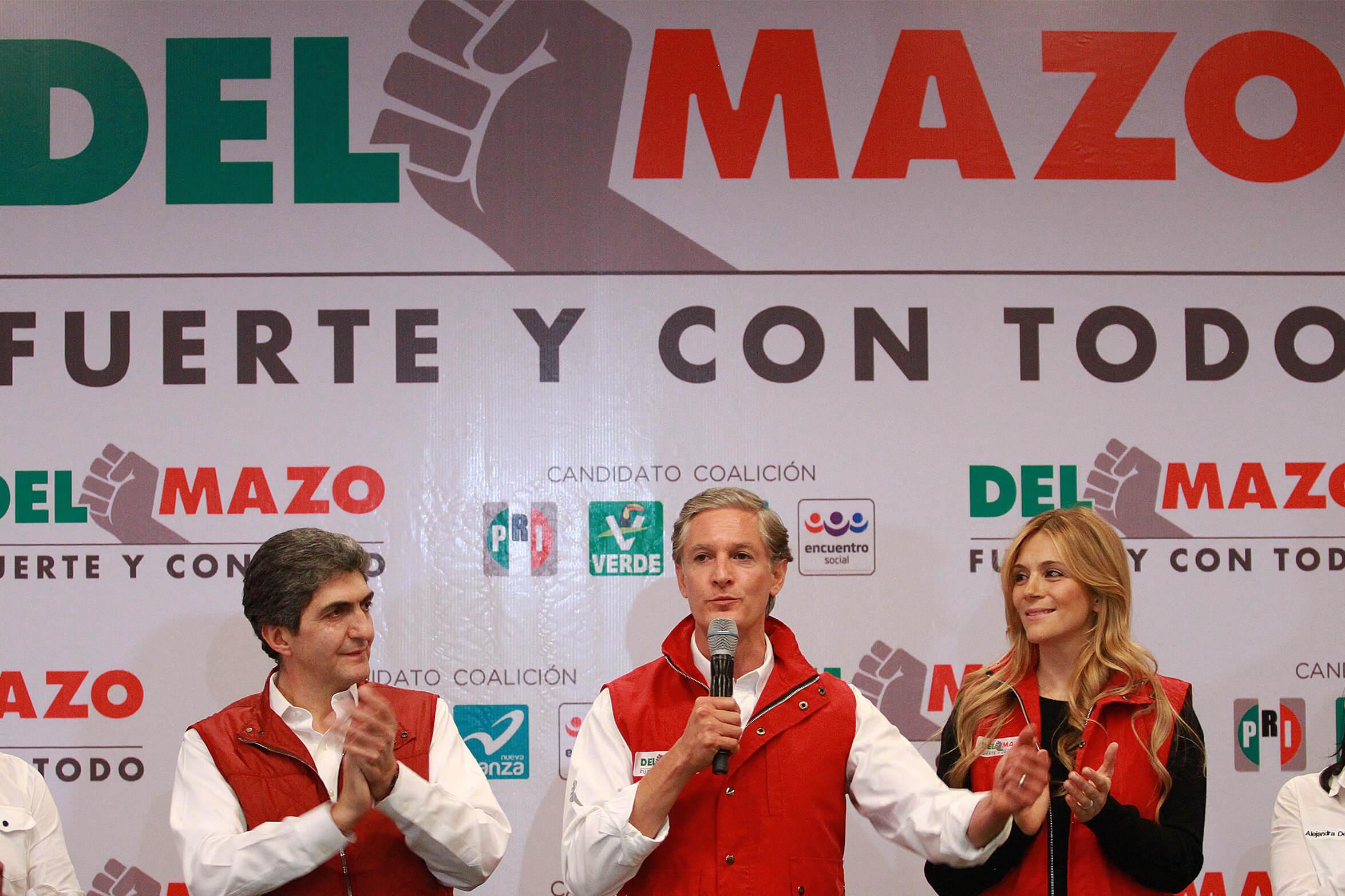 No busco chamba, responde Zepeda a Del Mazo
