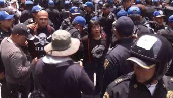 Enfrentamientos durante marcha por el orgullo gay en la CDMX