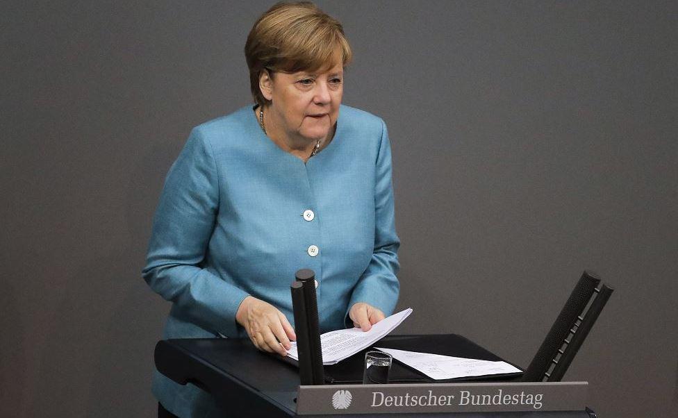 Angela Merkel, canciller alemana, Donald Trump, presidente, EU, G20, cambio climático