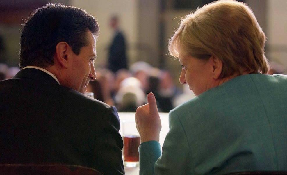 Angela Merkel, Peña Nieto, Alemania, México, visita oficial, Palacio Nacional