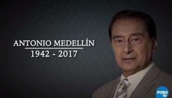 Muere Actor Antonio Medellin, Asociación Nacional De Interpretes, Telenovelas, Maria La Del Barrio, El Vuelo Del Aguila, Senda De Gloria, Peliculas, Los Tres Farsantes, Su Excelencia, Televisa News