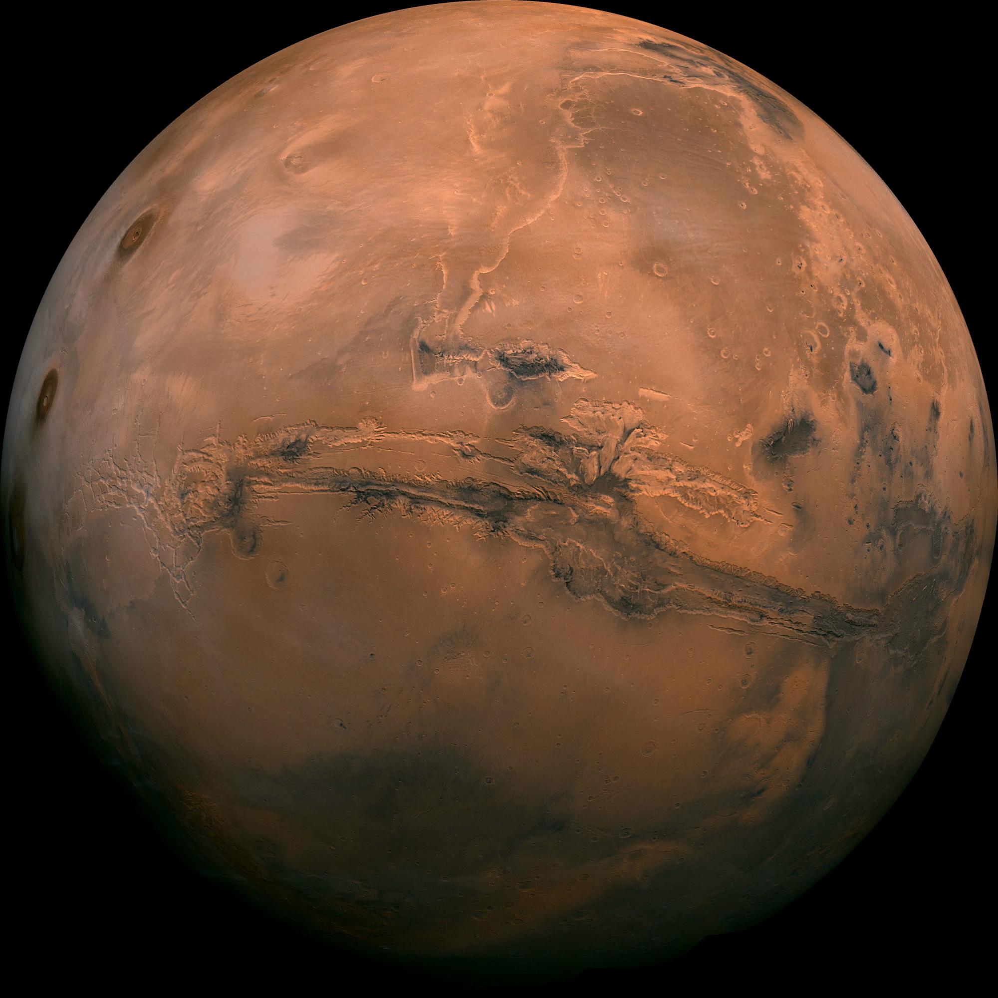 Mexicano incluido en misión que busca agua en Marte