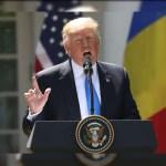 Presidente de Estados Unidos, Donald Trump, jardín de las Rosas, Casa Blanca