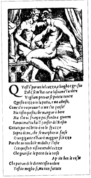 Obra pornográfica de Aretino