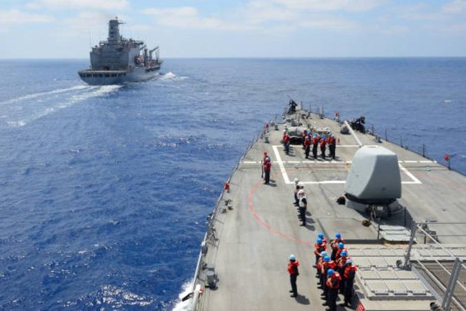 La Marina de EU en el Mediterráneo (Getty Images)