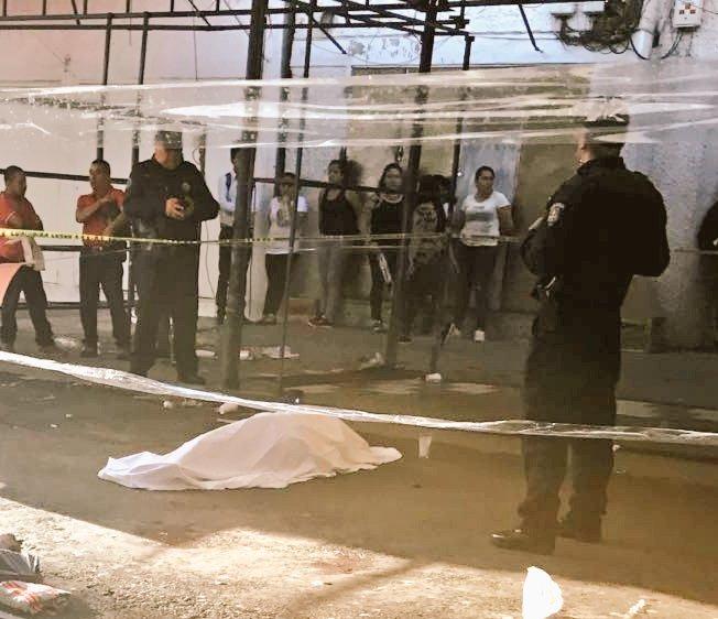 Balacera en Tepito deja dos muertos