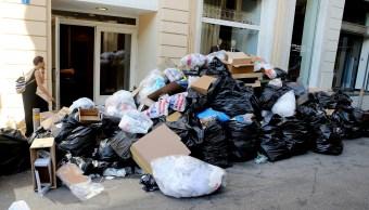 Gobierno griego afirma que tomará medidas tras huelga de basureros