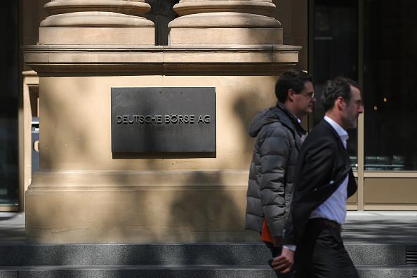 La Bolsa de Frankfurt volvió a operaciones en rojo
