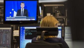 Bolsas europeas operan mientras líderes mundiales reaccionan