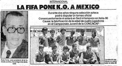 prensa, cachirules, Selección Mexicana, FIFA, sanción