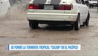 Calvin, provocará, lluvias intensas, Chiapas