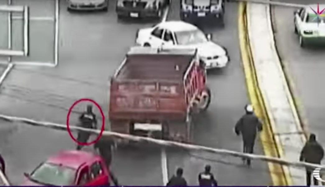 Camion crea caos en Hidalgo