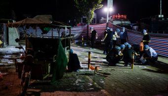 Joven, Autor, Atentado, Guardería China, Policía, Muertos, Heridos, Bomba Casera