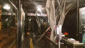 Metrobus xola permancece cerrado por daños