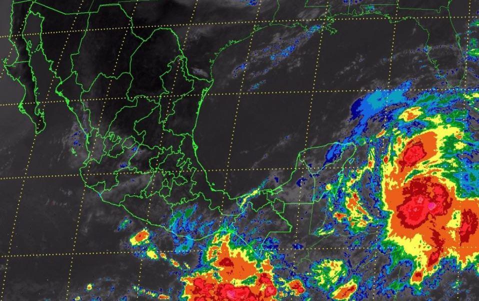 Clima En Mexico, Servicio Meteorológico Nacional, Pronostico, Nublados, Lluvias Actividad Electrica, Rachas De Viento, Peninsula De Yucatan, Noreste, Sureste, Comision Nacional Del Agua, Conagua