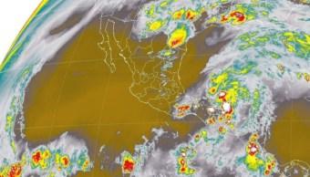 El SMN pronostican tormentas intensas en zonas de Tabasco, Campeche y Chiapas (Twitter: @conagua_mx)El SMN pronostican tormentas intensas en zonas de Tabasco, Campeche y Chiapas (Twitter: @conagua_mx)