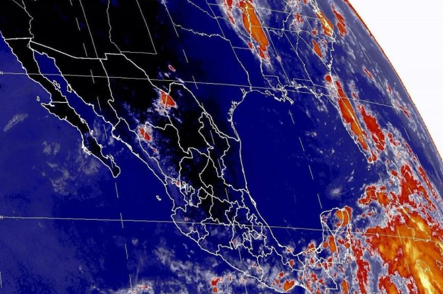 Se pronostican tormentas intensas en regiones de Chiapas (Twitter: @conagua_mx)