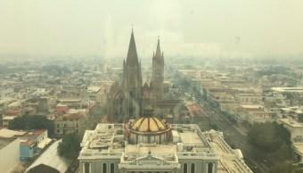 Contaminación ambiental afecta a la ciudad de Guadalajara, Jalisco