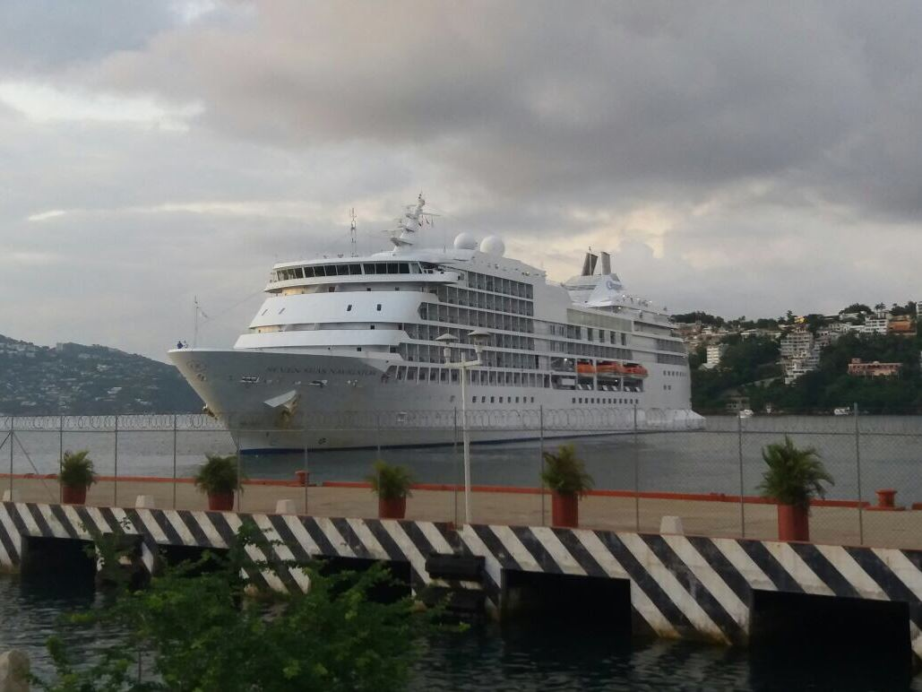 Crucero, Turistas, Pasajeros, Puerto, Acapulco, Guerrero, Turismo, Tripulación, Temporada, La Quebrada