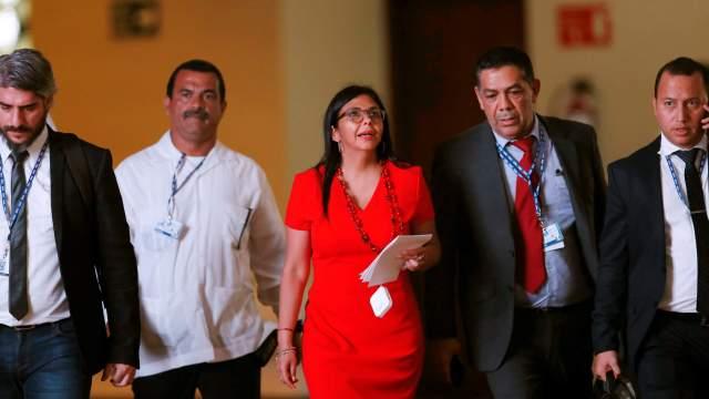 OEA, cancilleres, Delcy Rodríguez, Venezuela, crisis, Maduro