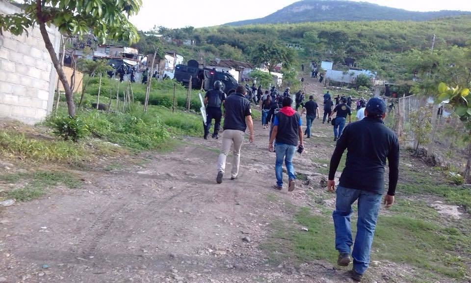Desalojan, Predio, Reserva, Cañon del sumidero, Chiapas, Seguridad