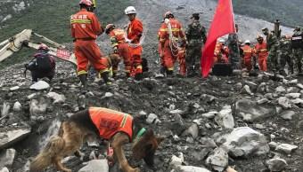 Clima, deslizamiento, deslave, tierra, China, heridos, muertos, desaparecidos