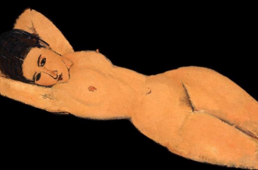 Facebook, censura, pintura, Desnudo recostado, Amedeo Modigliani.