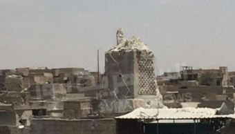 Estado Islamico Destruye Mezquita En Mosul, Grupo Terrorista Estado Islamico, Irak, Fuerzas Gubernamentales, Primer Ministro Iraqui